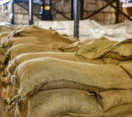 Filled Hessian Sandbags - 15kg