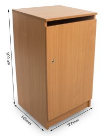 Confidential Waste Console - Beech