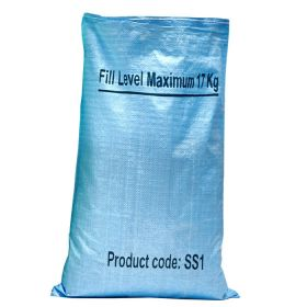 Blue Shredding Paper Sack with Max Fill Line