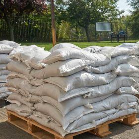 Filled Emergency Sandbags - Woven Polypropylene