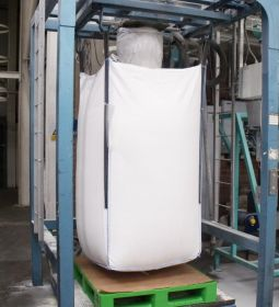 Food grade bulk bag with inlet