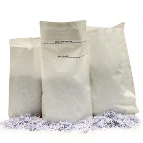 Paper Shredding Sacks with Tamper Evident Seal