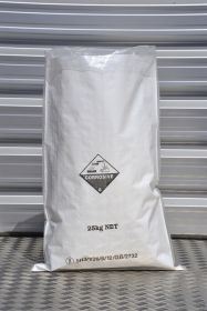Wove poly sack with liner and UN code for chemicals