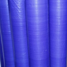 Blue Tarpaulin Fabric
