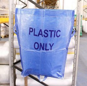 Warehouse Recycling Sack 'Plastic Only'