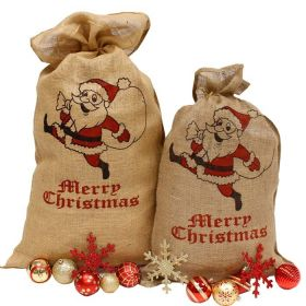 Hessian santa sacks