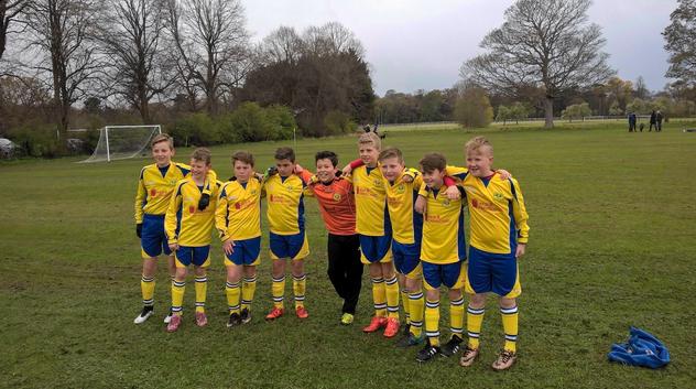 Success for Local Football Team sponsored by Weir & Carmichael