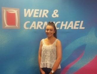 Student Experiences Work at Weir & Carmichael