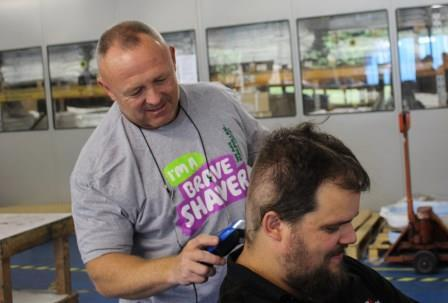 Employee Braves the Shave for Macmillan Cancer Support