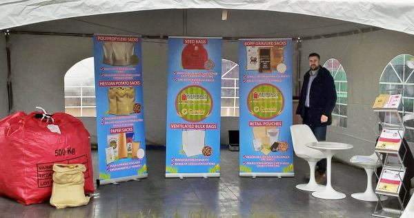 Weirbags weather the storm at Cereals exhibition 2019